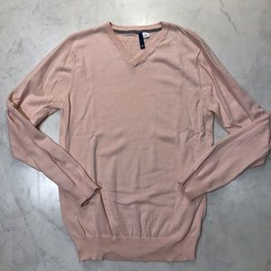 H&M DIVIDED V-NECK SWEATER